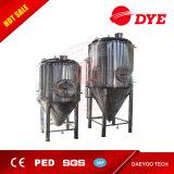 1000Lステンレス鋼の生ビールの円錐発酵槽
