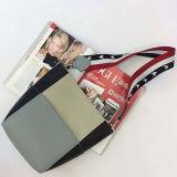 Sacchetti di spalla variopinti delle donne del cuoio genuino delle nuove di disegno di svago borse delle signore con la cinghia di spalla speciale Emg5135
