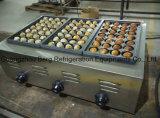 Нержавеющая сталь коммерчески автоматическое Fishball варя машину Takoyaki газа хлебопека