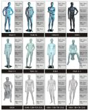 Mannequins superiori di golf degli uomini della visualizzazione del negozio di sport di marca