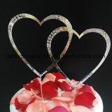 Sparkly экстракласс торта венчания сердца экстракласса торта Rhinestone