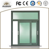 Aluminio modificado para requisitos particulares fábrica Windows de desplazamiento de China
