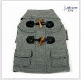 Ropa del animal doméstico del abrigo del otoño del