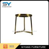 Mesa de café chinesa de bom gosto Mesa de lado metálica