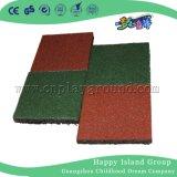 stuoia di gomma di sicurezza della pavimentazione del campo da giuoco di 100X100cm con En1171 En1177 (M11-12401)