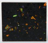 Pierre artificielle matérielle de quartz de contre- dessus de cuisine (GSY)