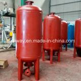 Depósito de gasolina vertical del acero inoxidable
