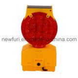 Luz solar do diodo emissor de luz Warnig do farol intermitente do tráfego da luz da barricada