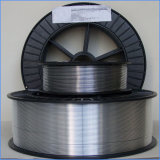 Alambre de soldadura base flux de aluminio del alambre de soldadura de MIG 1.2m m E71t-1