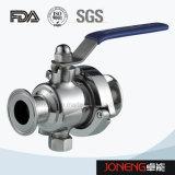 Valvola a sfera non premuta di ritegno di elevata purezza dell'acciaio inossidabile (JN-BLV1010)