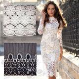 Merletto elastico del tessuto del Crochet del merletto degli accessori dell'indumento