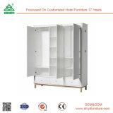 Комплект спальни сильной и крепкой конструкции самомоднейший с шкафом шкафа