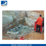 Foreuse en pierre pour l'exploitation de carrière de granit