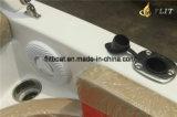Barco externo do motor cabine quente da pessoa 10-12 da venda 7.3m da meia