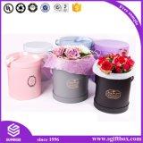 ボックスのあたりのローズの防水円形の花のペーパー包装