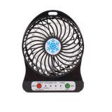 Beweglicher nachladbarer Ventilator-Schreibtisch-Taschen-Miniventilator-Handgebläse-Luft-Kühlvorrichtung-Batterie-Ventilator