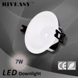 luz de techo antideslumbrante ligera de la iluminación LED de 7W LED Downlight LED