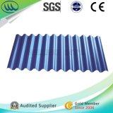 Material de construcción de chapa ondulada de acero galvanizado