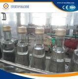 Het Afdekken van het Flessenvullen van het Glas van de wodka Machine