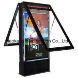 Heller Kasten des Verschieben- der Bildschirmanzeigeled für das Bekanntmachen des Bildschirmanzeige-Foto-Rahmens mit Plakat-Rahmen