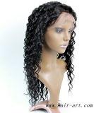 Parrucca piena del merletto dei capelli umani di Remy di alta qualità per le donne