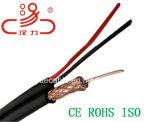 Cavo coassiale del cavo elettrico del cavo di Rg59coaxial RG6/cavo del calcolatore/cavo di dati/cavo di comunicazione/audio cavo/connettore