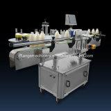 Máquina de etiquetado redonda automática de alta velocidad para el estaño del barril del tarro de la botella