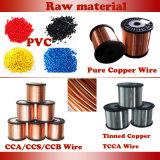 Único fio da energia eléctrica do núcleo do cobre do núcleo