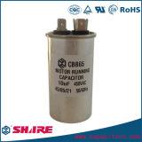 Capacitor oval Sh do condicionador de ar do funcionamento do motor do capacitor do parafuso Cbb65