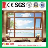 Puder-überzogene hölzerne Farben-Aluminiumfenster mit Insekt-Bildschirm