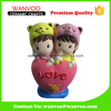 Recentemente ricordi di ceramica cinesi di cerimonia nuziale di Desined per il regalo e la decorazione