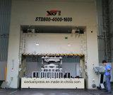 La double presse détraquée latérale droite 800ton pour l'acier de silicium de faisceau de moteur masquant avec Ompi italien sèchent l'embrayage, moteurs de Taiwan Teco
