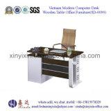 주문을 받아서 만들어진 직원 책상 간단한 컴퓨터 사무실 테이블 (SD-008#)