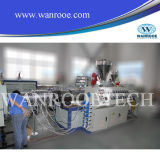 Extrusora de doble tubería de PVC Línea de Producción