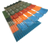 Wave Steel Roof Tile / Galvanized Color Roofing Sheet / Color Steel Plate