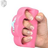 Choque eléctrico do dispositivo da autodefesa/defesa Stun o injetor (a cor-de-rosa)