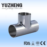 Yuzheng Clamped Tee in Dairy Industry