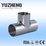Yuzheng Clamped Tee en Dairy Industry