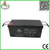 batterie d'acide de plomb scellée rechargeable solaire de 12V 200ah Mf