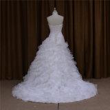 Сексуальное платье венчания Organza lhbim