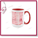 11oz Inner Color Mug voor Sublimation door Mejorsub
