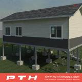 Einfaches klassisches Landhaus-Gebäude-Fertighaus mit niedrigen Kosten