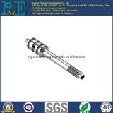 Custon Qualität CNC, der lange Wellen maschinell bearbeitet