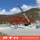 Struttura d'acciaio prefabbricata della grande portata per il magazzino