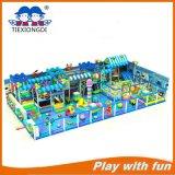 De kleurrijke Apparatuur van de Speelplaats van het Vermaak Binnen, de Zachte BinnenSpeelplaats van Jonge geitjes
