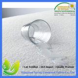 Protetor de superfície do colchão da prova do ácaro da poeira de Terry do algodão macio respirável