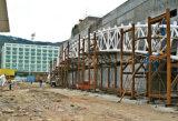 Estructura redonda del braguero de la azotea del tubo como construcción de escuelas