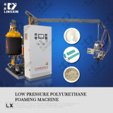 Máquina que hace espuma de la PU de la presión inferior para la espuma del deslizador de la PU