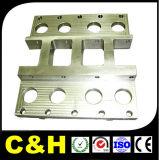 Подгонянный алюминий CNC алюминия подвергая механической обработке филируя разделяет поставку частей CNC