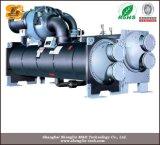 Unità a vite del refrigeratore della pompa termica di fonte d'acqua